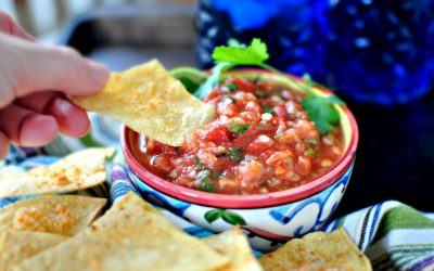 How to Make Mexican Chips and Salsa